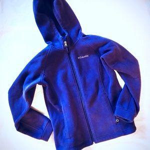 Kids Columbia Hooded Fleece Jacket